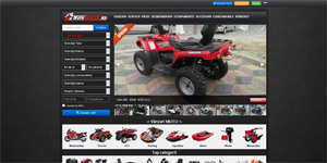 Moto Parts ads website - Moto Dealer