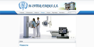 Medical equipment store - M-Interfarma